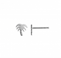 Petit Palm Earring Silver