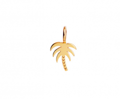 Petit Palm Pendant Gold
